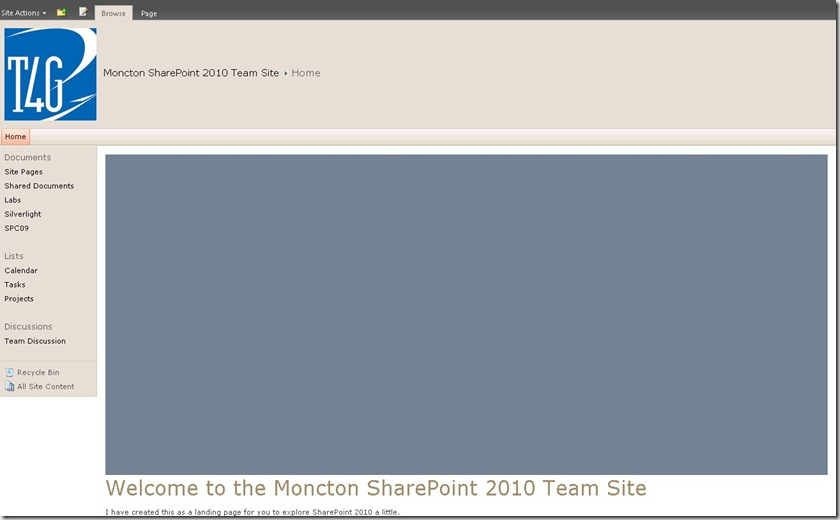 Simple SharePoint 2010 + Silverlight + Client Object Model